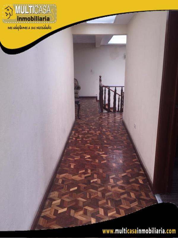 Casa en Venta a Crédito Sector Totoracocha Cuenca-Ecuador