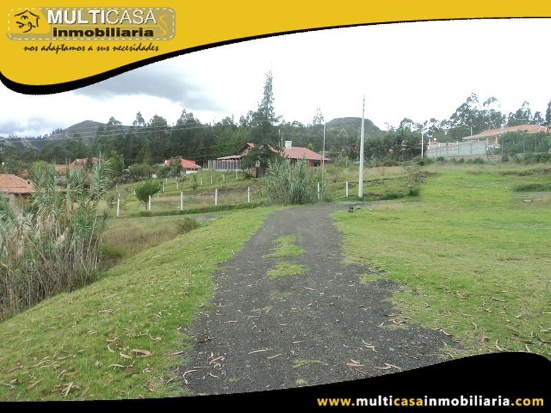 Terreno con Media Agua en Venta a Crédito Sector Zullin Azogues-Ecuador
