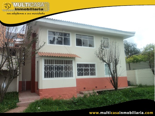Arriendo Casa Ideal para Instituciones Sector Ordoñez Lasso Cuenca-Ecuador