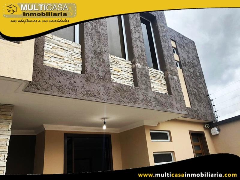 Casa en Venta a Crédito en Condominio Privado Sector Narancay Cuenca-Ecuador