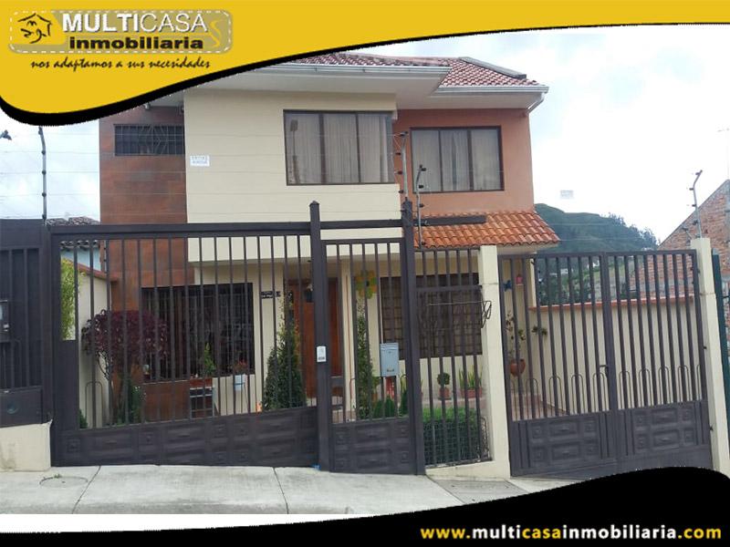 Casa en Venta a Crédito Sector El Tiempo Cuenca - Ecuador