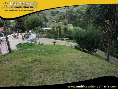 Terreno de 521m2 en Venta a Crédito en Ciudadela Privada Sector Chilcapamba Cuenca - Ecuador