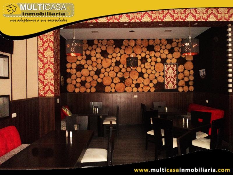 Venta de Bar - Restaurante Sector Centro Histórico Cuenca - Ecuador