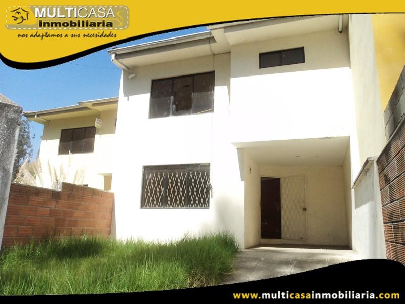 Casa en venta a Crédito Sector Las Orquídeas Cuenca-Ecuador
