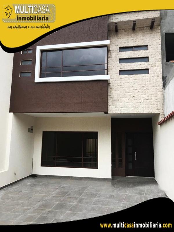 Casa en Venta a Crédito en Condominio Privado Sector Gran Manzana Cuenca - Ecuador