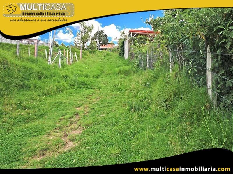 Terreno en venta a Crédito Sector Monay Baguanchi Cuenca-Ecuador