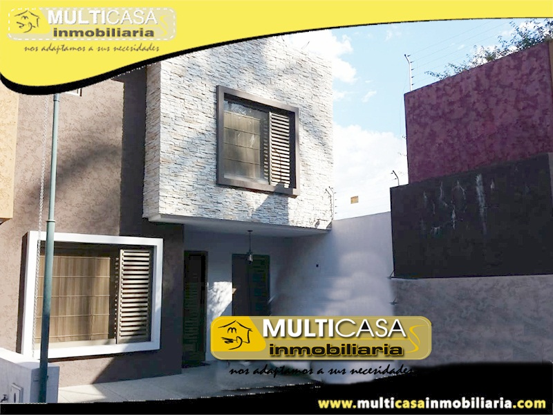Casa en Condominio Privado de Venta a Crédito Sector Av. González Suárez Cuenca - Ecuador
