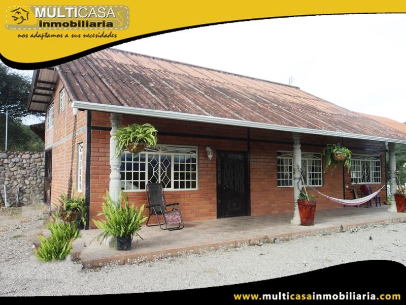 Quinta en Venta a Crédito Sector Cataviña-Yunguilla Cuenca-Ecuador