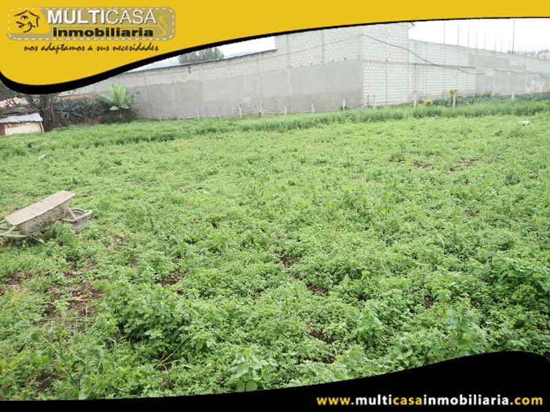 Terreno de 299 m2 en Venta a Crédito Sector Cristo del Consuelo Cuenca-Ecuador
