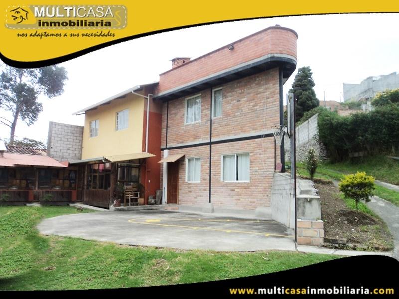 Casa Comercial en Venta a Crédito Sector Universidad del Azuay Cuenca-Ecuador