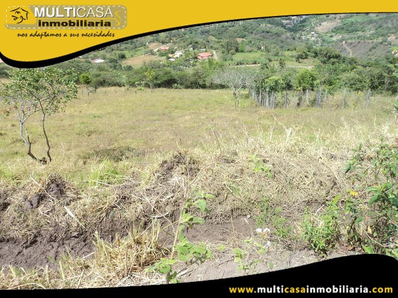 Terreno de 5.280m2 en Venta a Crédito Sector Yunguilla-Ecuador