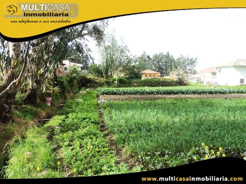 Terreno de 1.168 m2 de Venta a Crédito Sector San Joaquin Cuenca-Ecuador