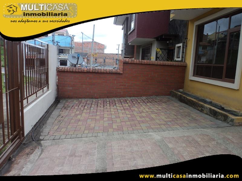 Casa en Venta a Crédito Sector El Tejar- Cuenca Ecuador