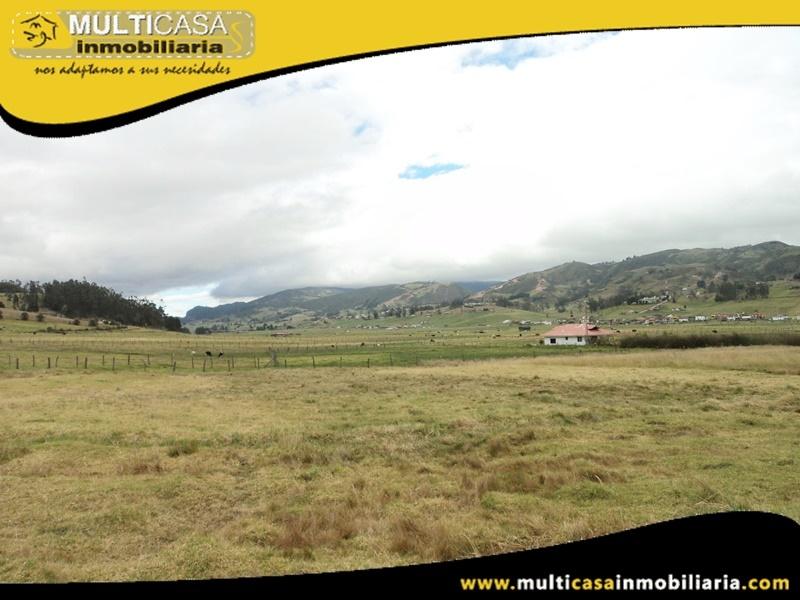 Terreno de 4.000 m2 en Venta a Crédito Sector Victoria del Portete Cuenca-Ecuador