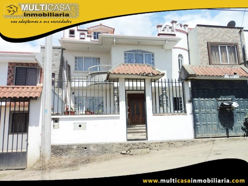 Casa por Terminar en Venta a Crédito Sector Camino Viejo Baños Cuenca-Ecuador