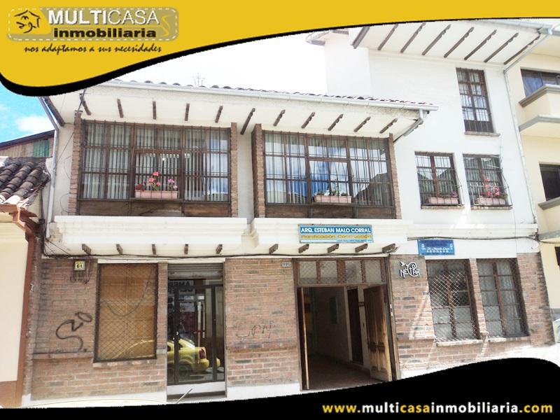 Casa Comercial en Venta a Crédito Sector Centro Historico Cuenca-Ecuador