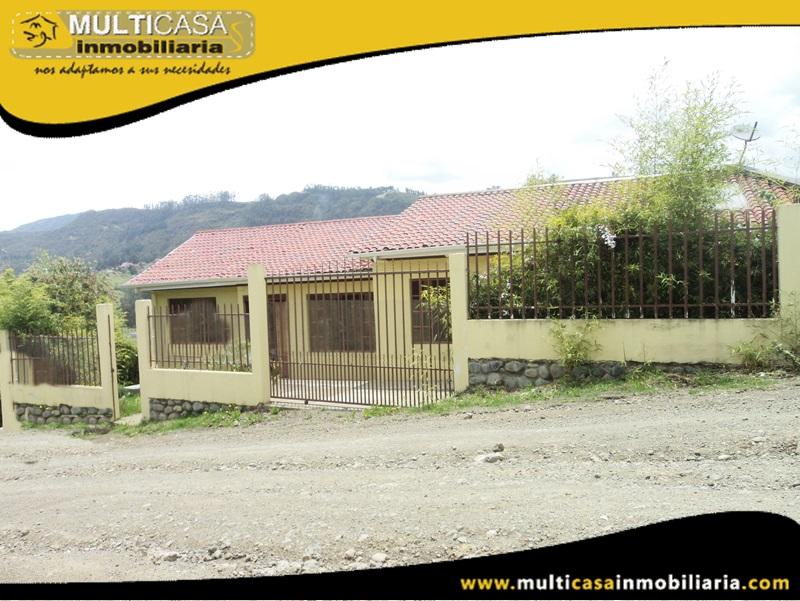 Casa en Venta a Crédito Sector Monay Chico Cuenca -Ecuador