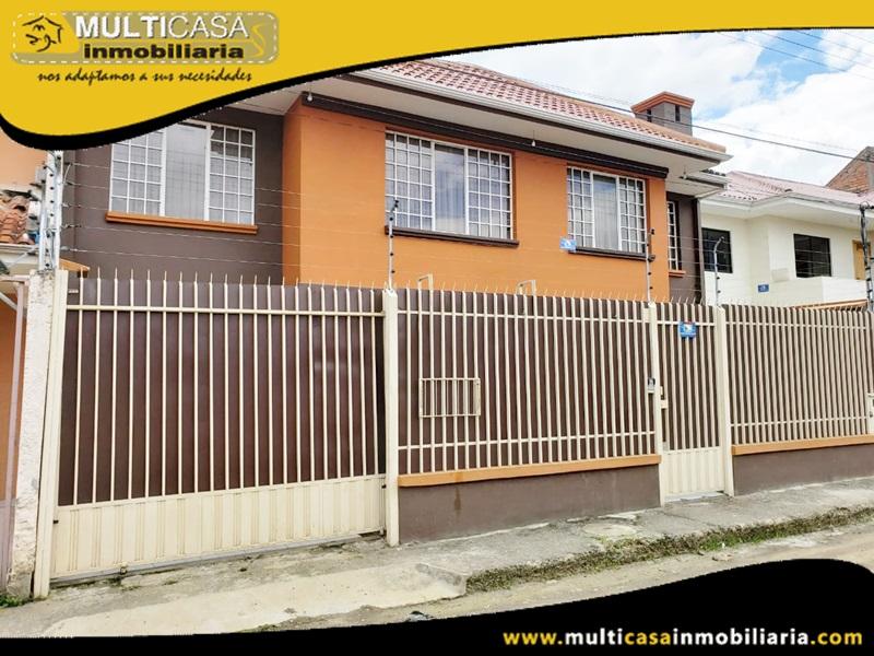 Casa en arriendo sector  ciudadela Simón Bolívar Cuenca - Ecuador