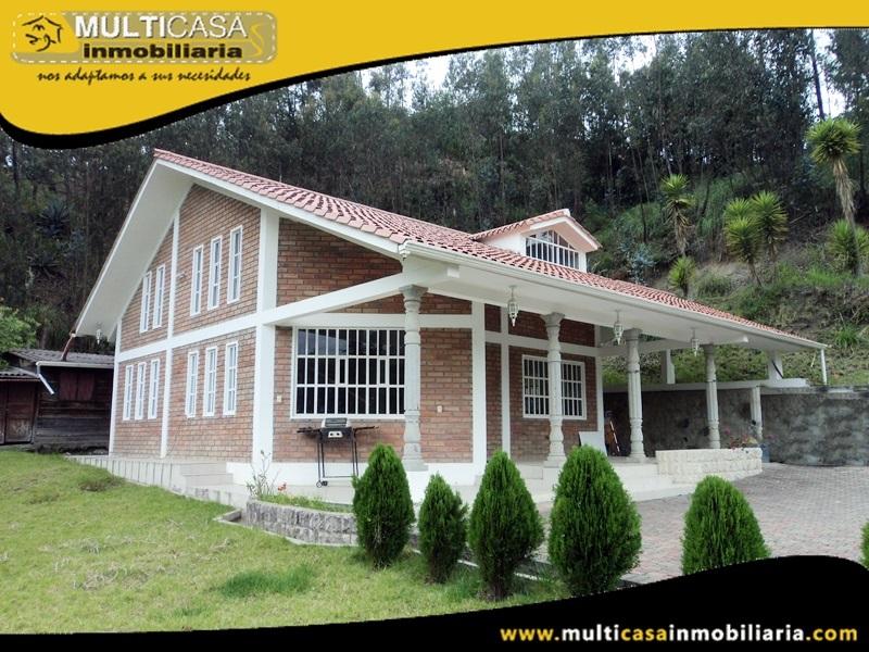 Quinta en Venta a Crédito Sector Zhullin Alto- Azogues Ecuador