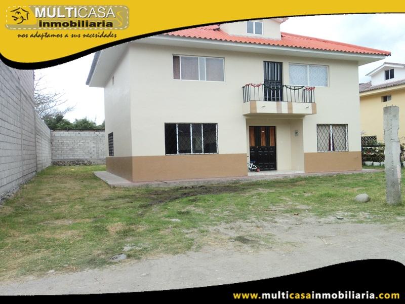 Casa en Venta a Crédito Sector Zhumir - Paute-Ecuador