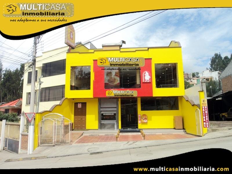 Casa Comercial en Venta Incluye Negocio a Crédito Sector Azogues-Ecuador