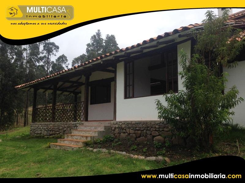 Casa con Terreno en Venta a Crédito Sector Sidcay Cuenca-Ecuador