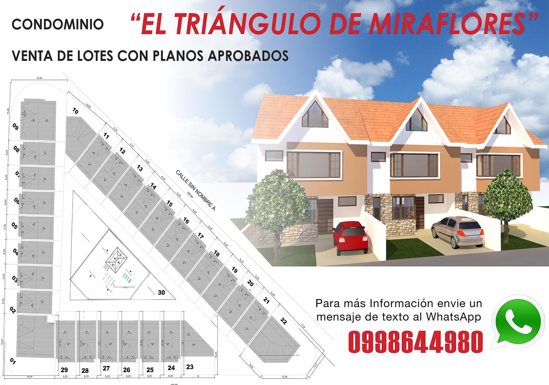 Vendo Lotes individuales con Planos aprobados sector Parque Miraflores