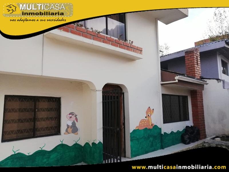 Arriendo Casa Adecuada para Guardería Sector Ordoñez lasso y Avenida de las Américas Cuenca-Ecuador