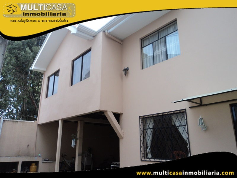 Casa en Venta en Crédito Sector Ricaurte Cuenca-Ecuador