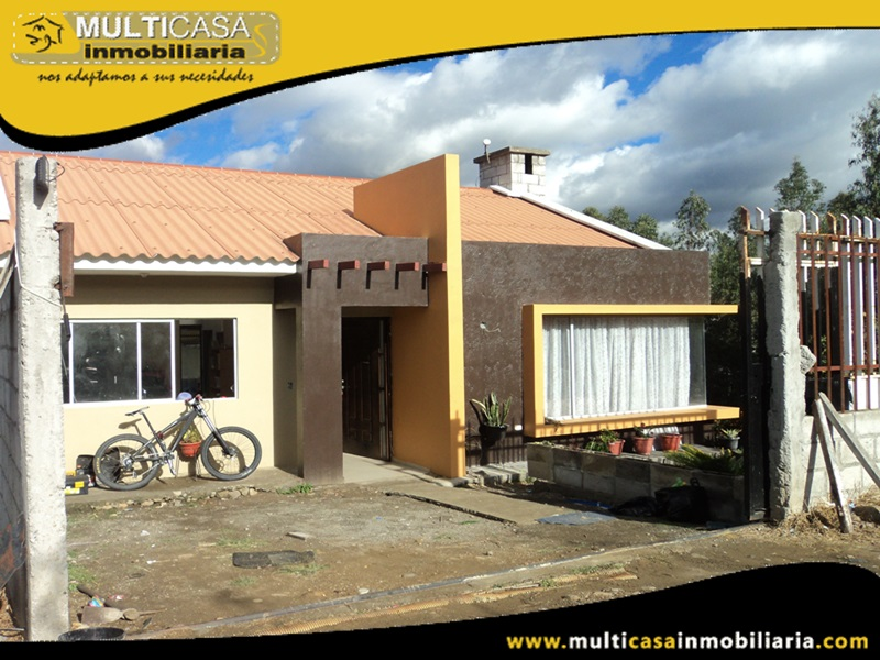 Casa en Venta a Crédito Por Terminar Sector Ricaurte Cuenca-Ecuador