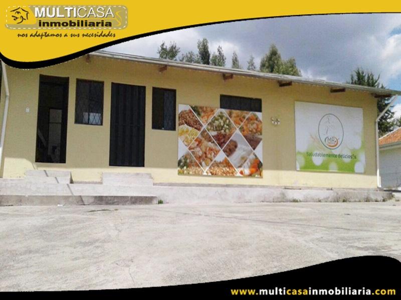 Venta de Fábrica de productos alimenticios en Venta a Crédito Sector Monay Cuenca-Ecuador
