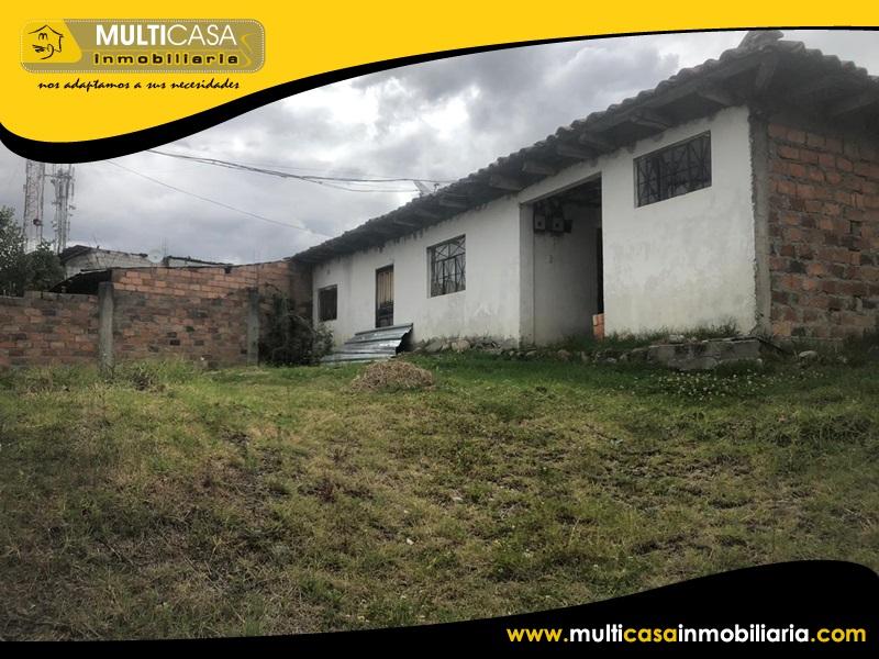Casa con Dos Mini Departamentos en Venta a Crédito Sector Quinta Chica Cuenca-Ecuador