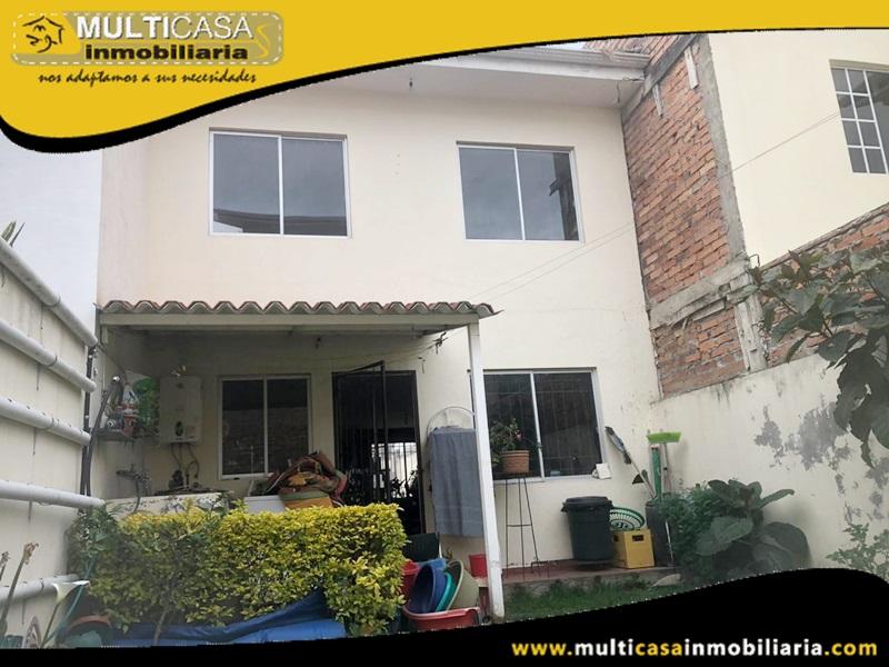 Casa en Venta a Credito Sector Yanuncay Cuenca-Ecuador