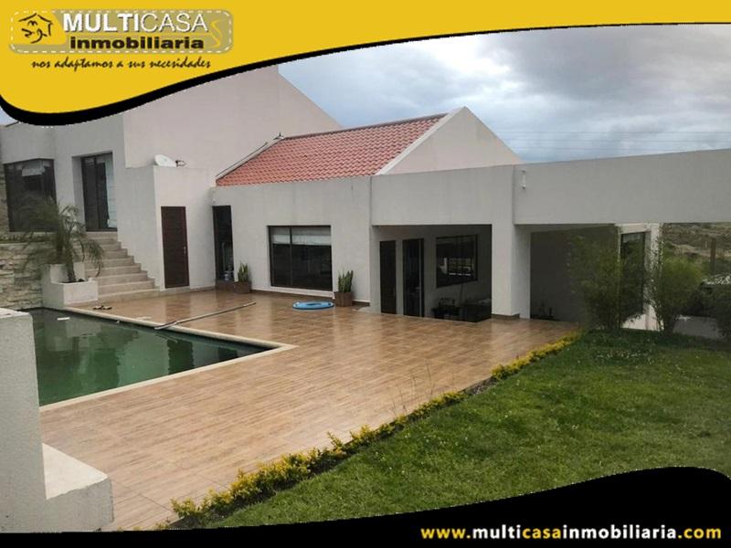 Casa en Venta a Crédito Sector Challuabamba Cuenca-Ecuador
