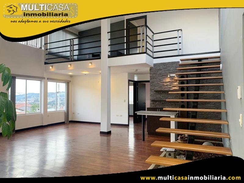 Departamento Duplex en Urbanización Privada en Venta a Crédito Sector Av. los Cerezos Cuenca-Ecuador