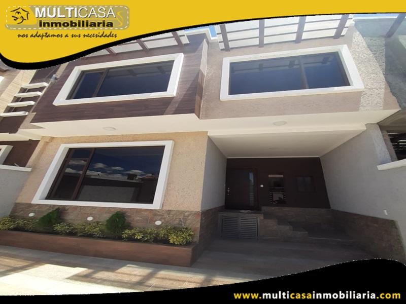 Casa en Urbanización Privada en Venta a Crédito Sector Misicata- Cuenca-Ecuador