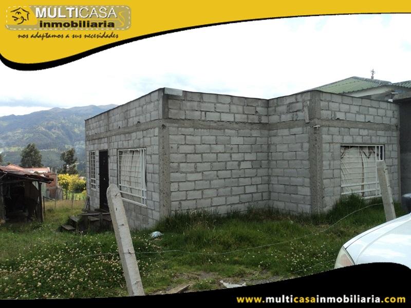 Terreno en Venta a Crédito Incluye Media Agua Sector Sayausí Cuenca-Ecuador