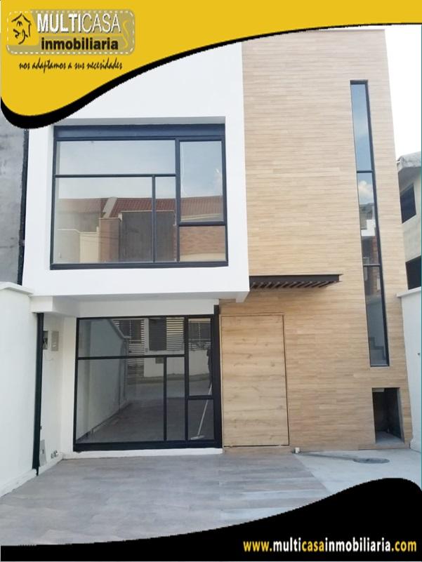 Casa en Condominio Privado en Venta a Crédito Sector El Cebollar  Cuenca-Ecuador