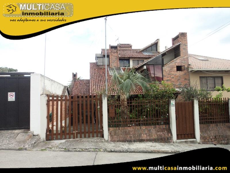 Casa en Venta a Crédito Sector Bellavista Cuenca-Ecuador