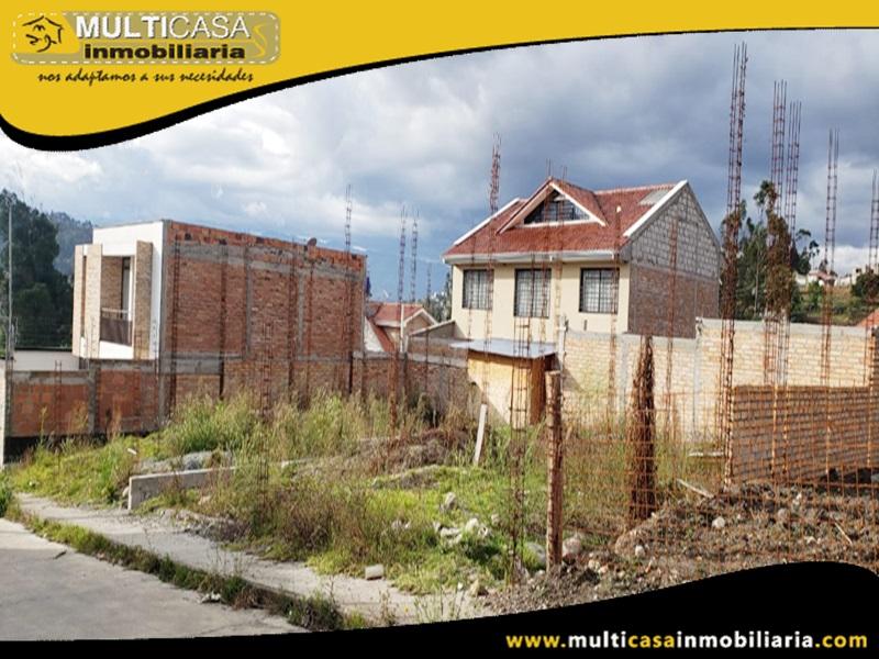 Terreno en Venta a Crédito en Ciuadela Privada Sector Monay Baguanchi Cuenca-Ecuador