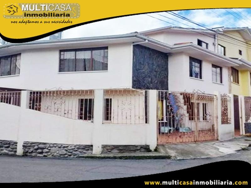 Casa en Venta a Crédito Sector Las Orquideas Cuenca-Ecuador