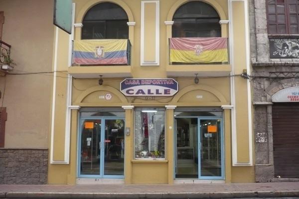 Casa Deportiva Calle