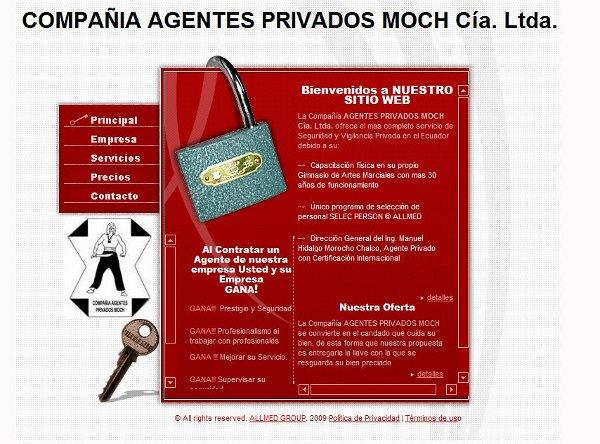 Compañia Agentes Privados MOCH.  Cía. Ltda.