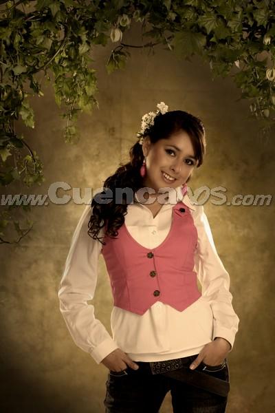 Reina del Azuay 2008 .- Karina Peralta, Candidata representante al Cantón Paute en el el acto de gala de elección de la nueva Reina del Azuay 2008, el cual se realizará el viernes 19 de septiembre en el Auditorio del Banco Central del Ecuador, en Cuenca, a las 20:00.
