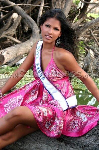 Miss Continente Americano 2008 .- Son 21 bellas mujeres de distintos países de Hispanoamericana que buscarán la corona de Miss Continente Americano, el cual tendrá lugar en Guayaquil, Ecuador el próximo 6 de septiembre . Entre ellas, la representante de Aruba Trecey Nicolass.