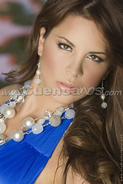 Miss Continente Americano 2008 .- Son 21 bellas mujeres de distintos países de Hispanoamericana que buscarán la corona de Miss Continente Americano, el cual tendrá lugar en Guayaquil, Ecuador el próximo 6 de septiembre . Entre ellas, la ecuatoriana Domenica Saporti, quién cuenta con el Título de belleza: Miss Ecuador Universo 2008. Tiene 20 años de edad y su Estatura es de 1.72 y sus medidas son 90 – 61- 92
