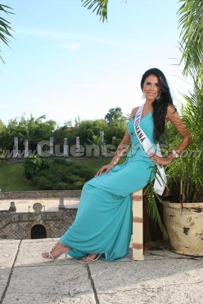 Miss Continente Americano 2008 .- Son 21 bellas mujeres de distintos países de Hispanoamericana que buscarán la corona de Miss Continente Americano, el cual tendrá lugar en Guayaquil, Ecuador el próximo 6 de septiembre . Entre ellas, la representante de Republica Dominicana Mariel Sabogal, quién cuenta con el Título de belleza: Primera Finalista Miss Republica Dominicana Universo 2008. Tiene 23 años de edad y su Estatura es de 172 y sus medidas son 86 – 63 - 93