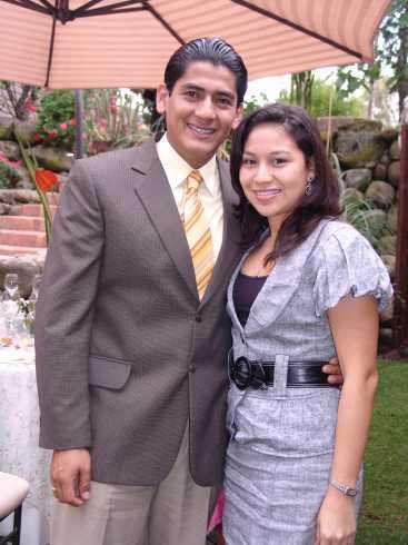 Boda Arias Pazmiño .- Mauricio Cabezas y Maria Fernanda de Cabezas