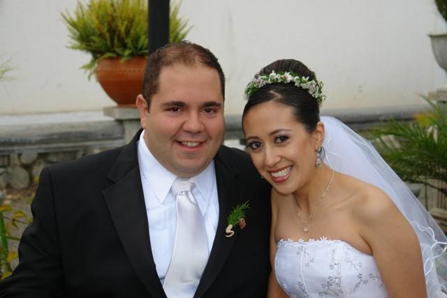 Michael Colonna, Marcela Salazar .- Los novios disfrutaron de su luna de miel en Miami