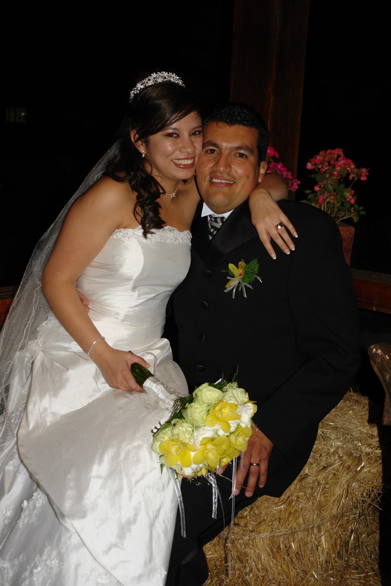 Andrea Robalino y Diego Sotomayor .- Los novios disfrutaron de su luna de miel en San Andres